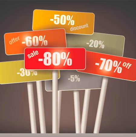 Fidelización de clientes mediante descuentos acumulables